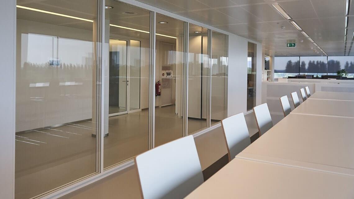 Trennwand Buro Schallschutz String Modernstes Design Wandsystem